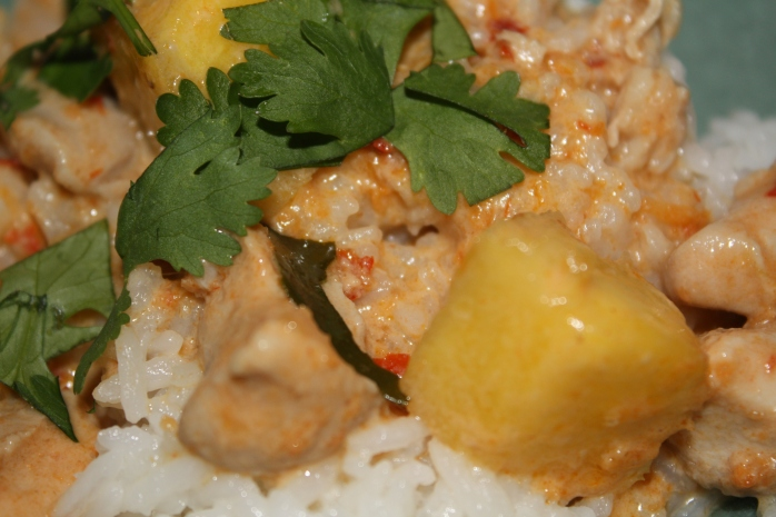 Red Curry Chicken 2