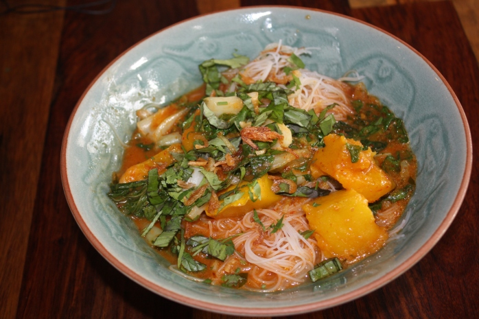 Roasted Pumpkin Laksa